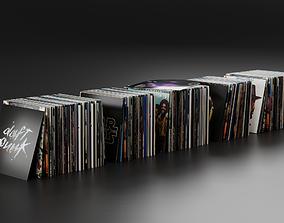 3D model Vinyl LP Collection