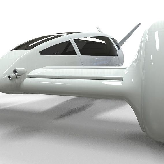Flying car concept
