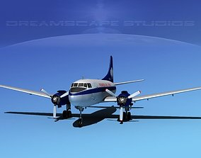 3D Martin 202 Pioneer Airlines