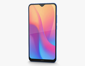 Xiaomi Redmi 8a Ocean Blue 3D model