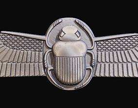 Egyptian Scarab Beetle for CNC Router 3D printable model
