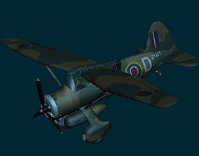 3D Westland Lysander WWII RAF aircraft