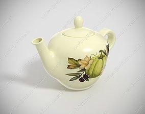 decor Teapot 3D model