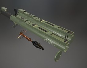 M72 Light LAW Anti-Tank Weapon 3D model