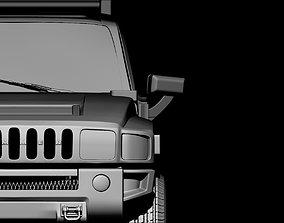 Hummer 3d print model