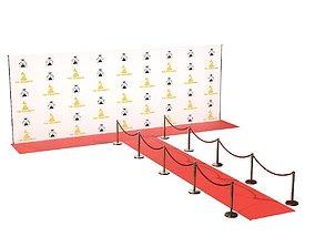 3D model Red Carpet Grammy awards