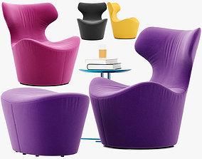 Piccola Papilio armchair 3D