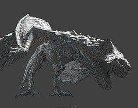 3D asset Wyvern esc Dragon