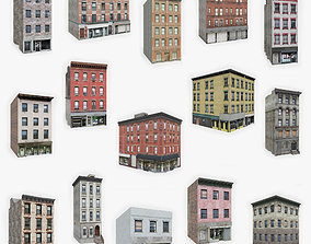 15 Apartment Building Collection 5 3D asset