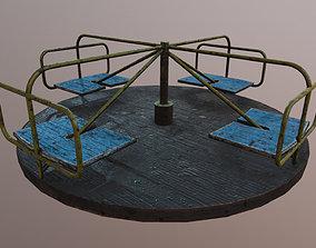 Carousel 3D asset