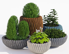 Fluo planters 3D