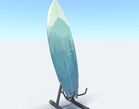 surfboard V6 3D model