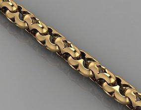 3D print model chain bracelet