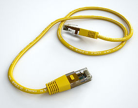 3D Ethernet Cable