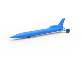 dragster Diecast model Blue Flame jet car