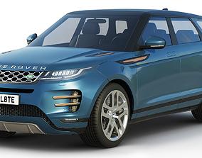 3D model Land Rover Range Rover Evoque r-dynamic 2019