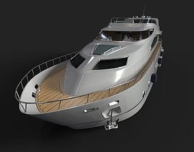 Luxury Yacht ue4 3D