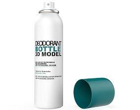 Spray can cosmetics 3D model