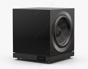 3D model Bowers and Wilkins DB1D Gloss Black