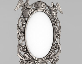 Frame for the mirror ornament 3D print model