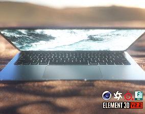 MacBook Air 3D asset