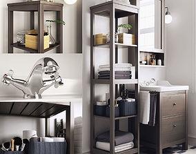 3D model Bathroom Hemnes Rttviken
