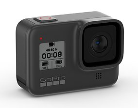 3D GoPro Hero8 Black