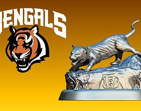 3D print model Statue Cincinnati Bengal - American 2
