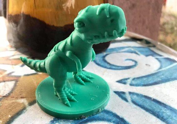 Stylized T-Rex