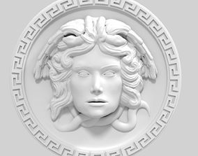 medusa decor 3D printable model