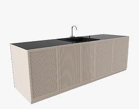 kitchen sink and wardrobe 3D