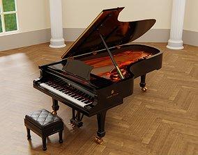 3D Concert Grand Piano