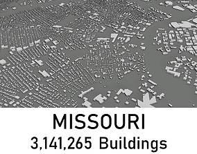 Missouri - 3141265 3D Buildings VR / AR ready