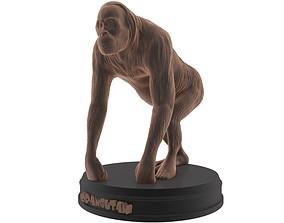 Orangutan Printable