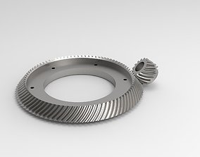 3D printable model gear transmission