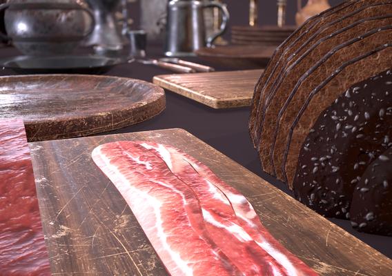 Bacon Close up