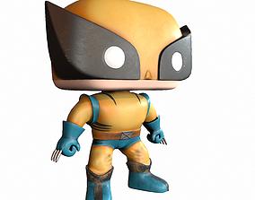 Wolverine Toy PBR 3D asset