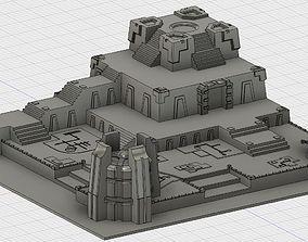 3D print model Space Zombie Battle board terrain