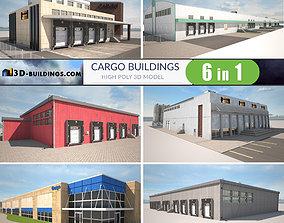 Cargo Buildings BUNDLE 3D