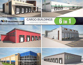 Cargo Buildings BUNDLE 3D