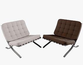 Chair Barcelona 3D