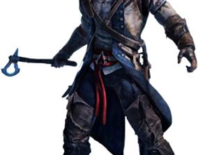 3D print model Assassins Creed 3 Connor Kenway