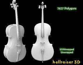 3D model Cello Violin