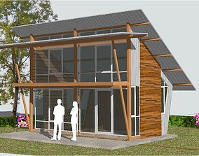 home 3D model Small resort cottage