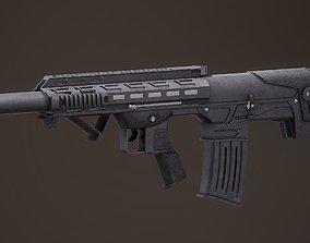 Panzer Arms BP12 Rigged PBR 3D model