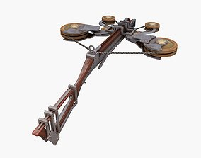 Crossbow 3D asset rigged