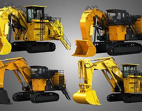 6030 FS - EX8000-6 - Mining Excavators and Shovels 4 in 3D