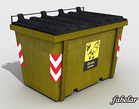 3D model Recycle bin 2