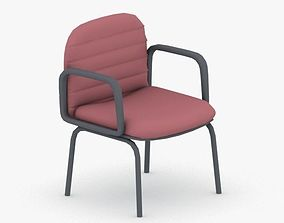3D model game-ready 1264 - Office Chair