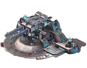 Mechanical Building - Fleet Turret 02 3D model